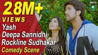 getlinkyoutube.com-Jaanu Kannada Movie Comedy Scenes 10 | Yash, Deepa Sannidhi, Rangayana Raghu