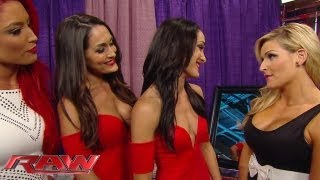 getlinkyoutube.com-Natalya slaps Brie Bella: Raw, August 5, 2013