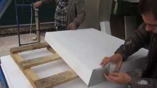 getlinkyoutube.com-Изготовление декоративных элементов из пенополистирола, своими руками.