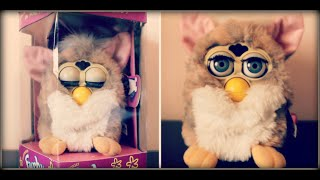 getlinkyoutube.com-Furby 1998 Original - Unboxing & Review [HD]