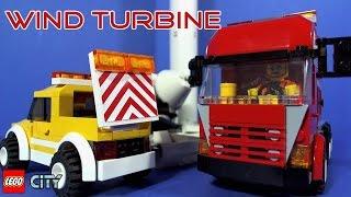 getlinkyoutube.com-Lego Wind Turbine Transport 7747