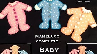 getlinkyoutube.com-MAMELUCO COMPLETO PARA BABY SHOWER HECHO CON FOAMY O GOMA EVA .