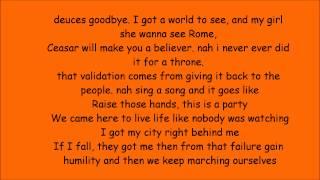MACKLEMORE & RYAN LEWIS - CAN'T HOLD US FEAT. RAY DALTON(lyrics)