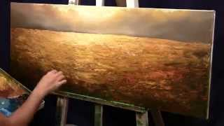"Time Lapse Painting ""Nature's Amber"""