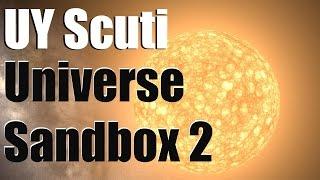 getlinkyoutube.com-UY SCUTI - Biggest Star In Our Galaxy - Universe Sandbox 2
