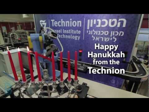 Rube Goldberg Machine -  Technion Israel -  Hanukkah 101