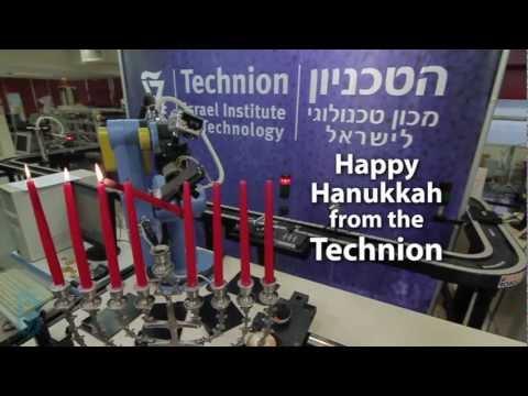 Rube Goldberg Machine -  Technion Israel -  Hanukkah 101