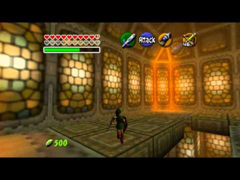 Legend of Zelda: OoT Walkthrough Part 92 Boss: Ganondorf - Great King of Evil