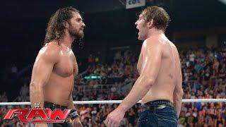 getlinkyoutube.com-Dean Ambrose vs. Seth Rollins - WWE Championship Match: Raw, July 18, 2016