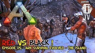 getlinkyoutube.com-L'ARENE DES GLADIATEURS 1/2 - Red Vs Black EP05 - Ark Survival Evolved PvP FR