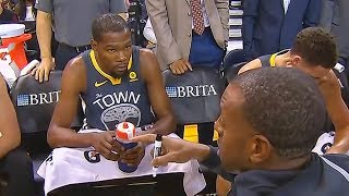 Kevin Durant Trash Talks Draymond Green and Exchanges Words with Andre Iguodala (Parody)