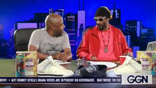 Snoop Dogg - Ggn S4 Ep #11 (donnell Rawlings Discusses Kimye, Ochocinco + More)