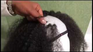 getlinkyoutube.com-Marley hair Crochet Braid Wig Tut *SENEGALESE TWIST BRAID By FEMI COLLECTION*