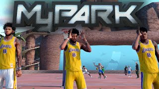 NBA 2K16 MyPARK - 360 DUNK ON 3 PEOPLE! Shawn, Stax, & Nick ON FIRE!