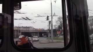 getlinkyoutube.com-Plzeň Trolleybus Ride Route 14 U plynárny to Pařížská