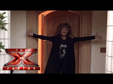 Backstage with TalkTalkTV Fluer East's house tour | The X Factor UK 2014