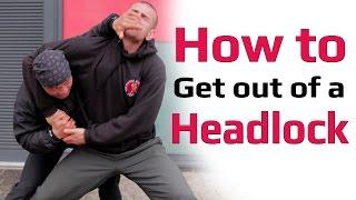 getlinkyoutube.com-how to get out of a headlock