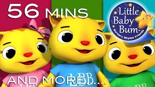getlinkyoutube.com-Three Little Kittens | Plus Lots More Nursery Rhymes | from LittleBabyBum!