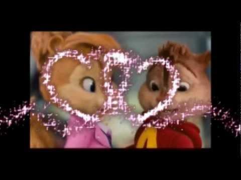 Alvin y Brittany-colgando en tus manos