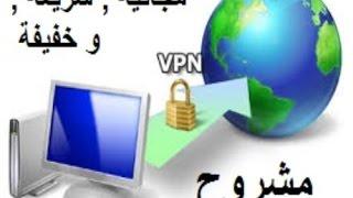 افضل برامج VPN المجانية و السريعة