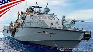 "getlinkyoutube.com-US Navy New SEAL Insertion Craft ""Mark VI Patrol Boat"" - 特殊部隊ネイビーシールズ潜入用の新型艇「Mk6 パトロール艇」"
