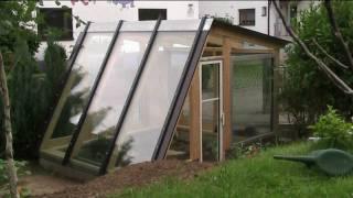 getlinkyoutube.com-building a diy designer greenhouse in 5 minutes