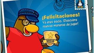 Como ser socio en Club Penguin ¡¡SIN PAGAR NADA!! (HD)