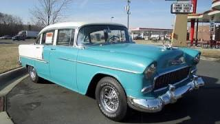 getlinkyoutube.com-1955 Chevrolet Bel Air Start Up, Exhaust, and In Depth Tour