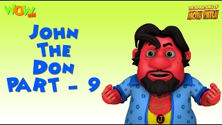 getlinkyoutube.com-John The Don Compilation - Motu Patlu Gags - Part 9