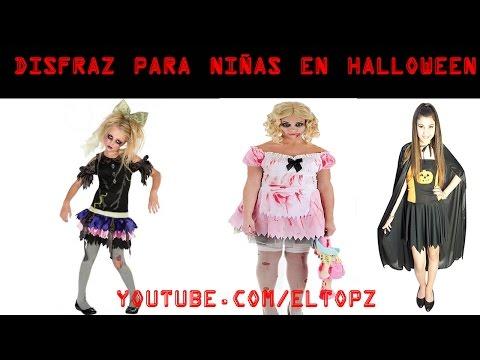 Disfraces para niñas en Halloween | Disfraz de niña