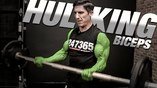 getlinkyoutube.com-How to Get Big Biceps - GUARANTEED!! (Hulk Arms)