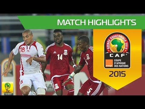 Tunisia vs Equatorial Guinea AFCON 2015