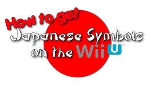 getlinkyoutube.com-Japanese Symbols on the 3DS and WiiU! [Mii Names]