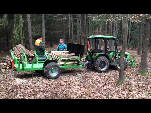 Těžba dřeva, vyvážečka