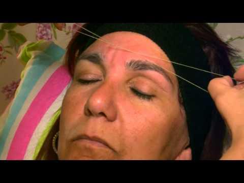 CUESTIÓN DE SALUD: La depilación con hilo, una técnica milenaria