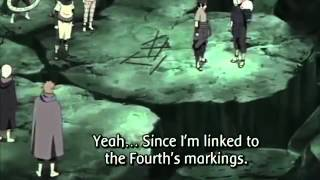 getlinkyoutube.com-Naruto and Sasuke fight Rikudou Madara! Part 1