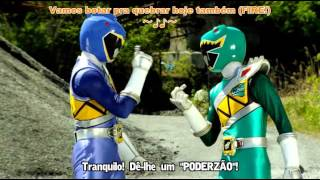 getlinkyoutube.com-Zyuden Sentai Kyoryuger The Movie   Gaburincho of Music  legendado em portugues