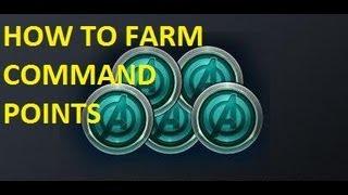 getlinkyoutube.com-Marvel Avengers Alliance - How To - Farming Command Points CP