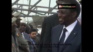 Mali: Retour du president interimaire Dioncounda TRAORE