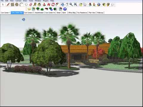 The SketchUp Connection Process between AutoCAD and SketchUp for Landscape Architecture Design