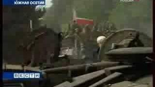 getlinkyoutube.com-Чеченский спецназ распугал всех грузинских солдат