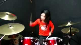 getlinkyoutube.com-Suka Sama Kamu - D'Bagindas - Drum Cover by Nur Amira Syahira
