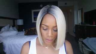 Beyonce Inspired Blonde Bob Color Comparison MLC 156
