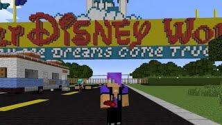 getlinkyoutube.com-Minecraft Disney Park!