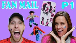 getlinkyoutube.com-FAN MAIL Part 1 Frozen Rainbow Loom My Little Pony Monster High by Disney Cars Toy Club DCTC