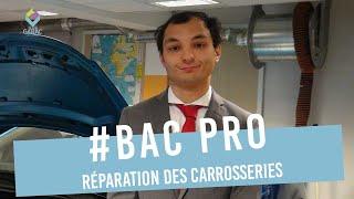 Raphaël Pargamin Bac Pro Carrosserie GARAC