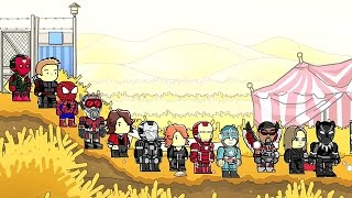 getlinkyoutube.com-Scribblenauts Unlimited 173 Captain America Civil War Main Heroes