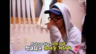gd showingbig bang room with eng sub