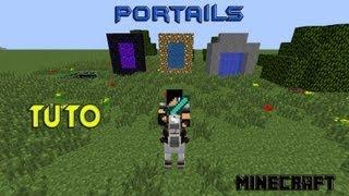 getlinkyoutube.com-{FR}[TUTO]-Comment faire tous les portails minecraft (1.6.2)-Youtube-Tutoriel