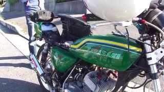 getlinkyoutube.com-オールカワサキ旧車おしゃべりツーリング Kawasaki Classics Touring&Chatting